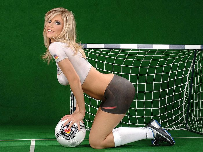 Girls like to play soccer!