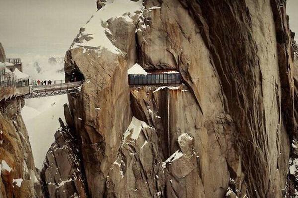 Aiguill e du midi in Chamonix, France