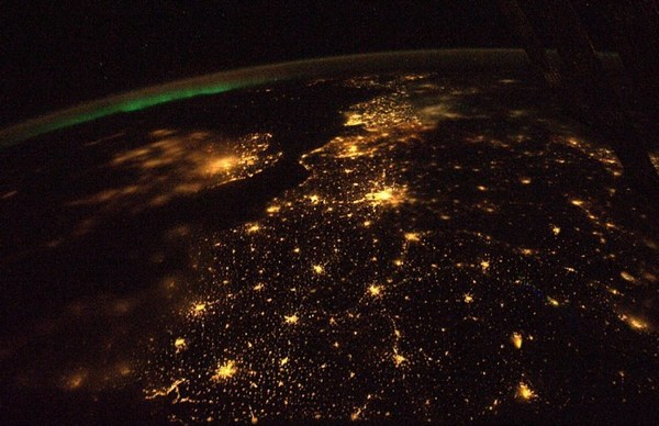 Night on Earth from Satellite
