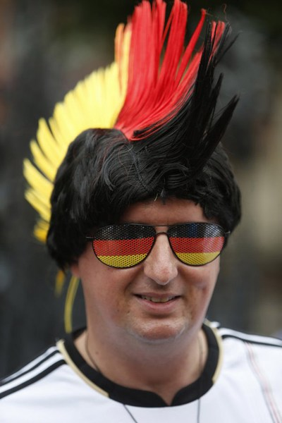 Fans on Euro 2012
