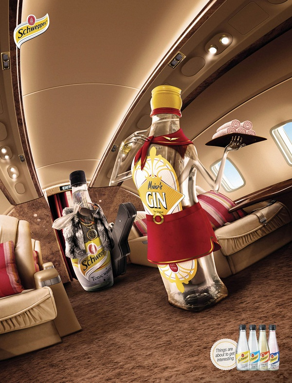 Schweppes Ad Campaign